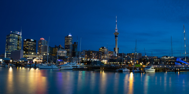 A New York Times travel writer has taken a liking to Auckland City. Photo / Brett Phibbs