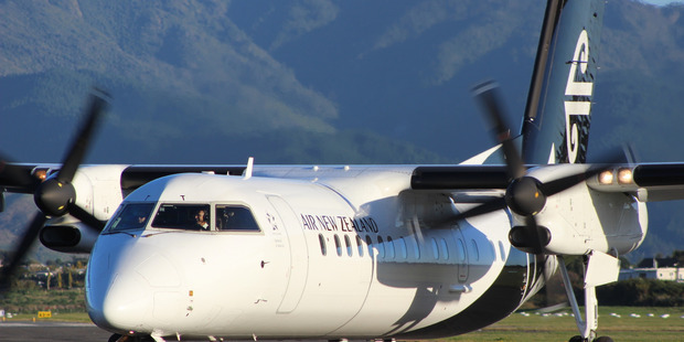 Air New Zealand will cease operations in and out of Kapiti Coast Airport on April 3. Photo / David Haxton.