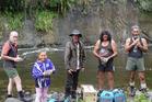 (From left) Rufus Bristol, Harata Tetawhero, Kenny Jones, Paora