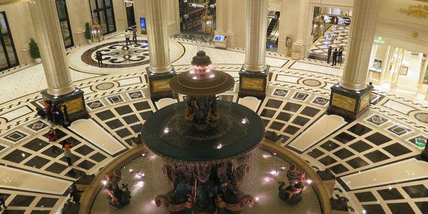 Inside the Parisian Macao.