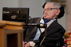 Stephen Hawking never took it personally when he lost a high-profile bet. Photo / AP