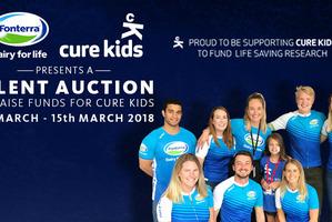 Fonterra presents a Silent Auction for Cure Kids