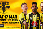 Win a family pass to the Wellington Phoenix vs Newcastle Jets
