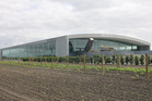 The new Delegat winery is one of several major building projects in the Hastings area. Photo / Supplied