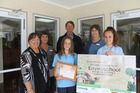 Students and staff from Ruawai College with the Enviroschool certificate. Back row: Jacque Knight, Rick Stolwerk, Susan Karels; front: Raeleen Harré (principal), Tahlia Johnson, Carla Fraser.