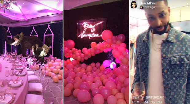 Photos shared on Snapchat from the lavish event. Photo / Snapchat