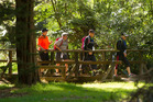 It was a fantastic weekend for the 25th Rotorua Walking Festival. Photo / Ben Fraser