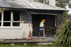 Rotorua Fire Brigade senior station officer Jim Prescott said the fire had ripped through about 70 per cent of the house. Photo/BenFraser
