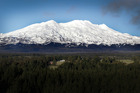 A series of earthquakes has been detected beneath Mt Ruapehu. Photo / File