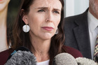 PM Jacinda Ardern and party president Nigel Haworth respond to the summer school debacle. Photo / Greg Bowker