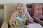 Te Awamutu's Jeanie McRae is 100 years old.