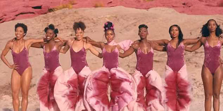 Janelle Monae in the video clip for PYNK. Photo / Youtube