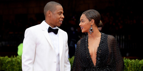 Jay-Z (L) and Beyonce attend the Met Gala. Photo / Getty