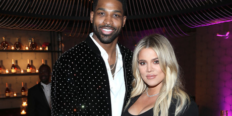 Tristan Thompson and Khloe Kardashian are now parents. Photo / Getty