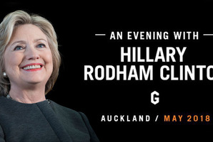 Win a double pass to An Evening With Hillary Rodham Clinton in Auckland