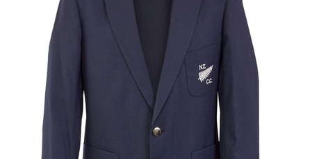 Martin Crowe's 1982-83 New Zealand Cricket Club blazer will also be coming home. Photo / supplied
