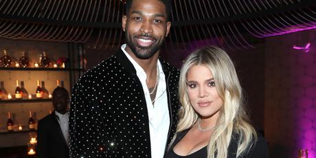 Tristan Thompson and Khloe Kardashian. Photo / Getty