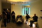 Staff and guests experiencing the new sensory suite at Eldon Lodge Rest Home in Paraparaumu.