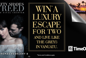 Win* a luxury escape for two to Vanuatu and live like the Greys
