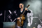 Bryan Adams stole the show at an almost sold out concert at Black Barn Vineyards last night. Photo /Shaun Ross
