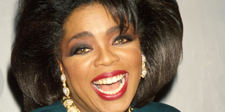 Television personality Oprah Winfrey in Press Room at the Grammy Awards. Photo / Getty