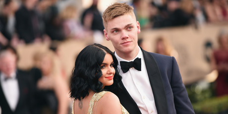 Actors Ariel Winter and Levi Meaden attend the 23rd Annual Screen Actors Guild Awards at The Shrine Expo Hall on January 29, 2017 in Los Angeles. Photo / Getty