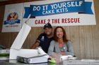 Ange Rye and Shayne Hughes say if they can make and decorate a cake anyone can.