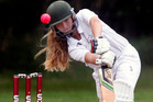 Anna Browing's 50 helped guide Auckland to back-to-back titles at the Under 15's tournament at Victoria Park yesterday.