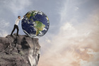 We've pushed our planet not to an environmental and ecological  crossroad but to a precipice. Photo / 123RF