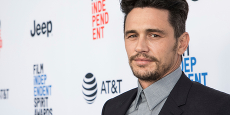 The book is a work of fiction and contains stories about 12 actors, including one Hollywood star named James Franco. Photo / AP