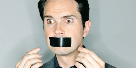 Jimmy Carr has never been one to hold back. Photo / Supplied