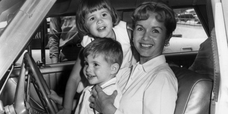 Carrie Fisher, Debbie Reynolds, and Todd Fisher are pictured from the Fisher's family archives. Photo / Getty Images