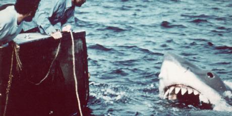 One of the mechanical sharks used in Jaws. Photo / Getty Images