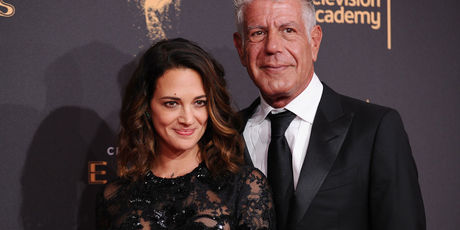 Asia Argento and Anthony Bourdain. Photo / Getty Images
