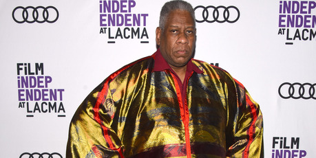 Andre Leon Talley. Photo / Getty Images