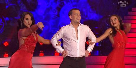 David Seymour on Dancing with the Stars tonight. Photo / Three