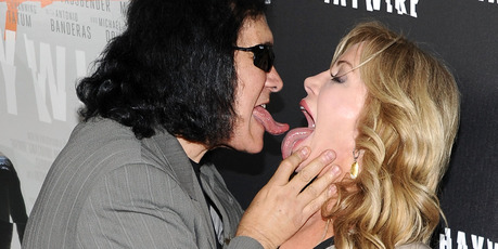 Gene Simmons and his long-time partner Shannon Tweed. Photo / Getty Images