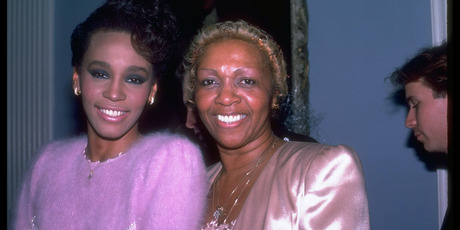 Whitney with her mother Cissy. The documentary uncovers a tangle of family secrets. Photo / Getty Images