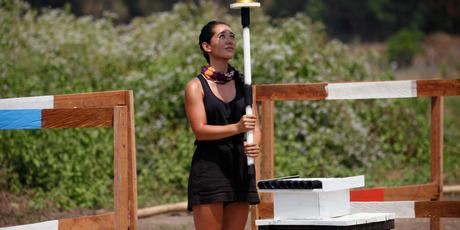 Despite winning last night's reward challenge, Eve was sent home from Survivor New Zealand. Photo / Luke Brindle