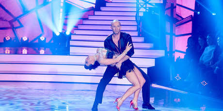Cricketer Chris Harris earned perfect scores for his two dances in the grand final of DWTS.