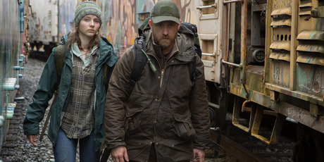 Thomasin Harcourt McKenzie and Ben Foster in Leave No Trace. Photo / Supplied