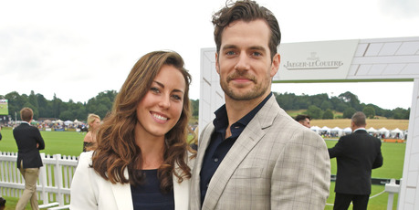 Henry Cavill and his ex girlfriend, Lucy Cork, 2017 in Midhurst, England. Photo / Getty