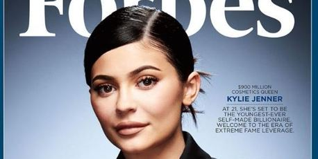 Kylie Jenner on the cover of Forbes.