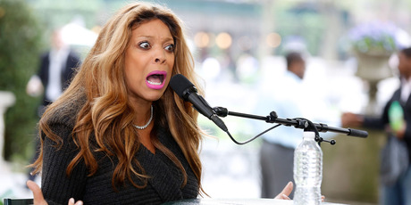 Media personality/author Wendy Williams speaks to the audience at The Bryant Park Reading Room on May 15, 2013 in New York City. Photo / Norrie Montgomery