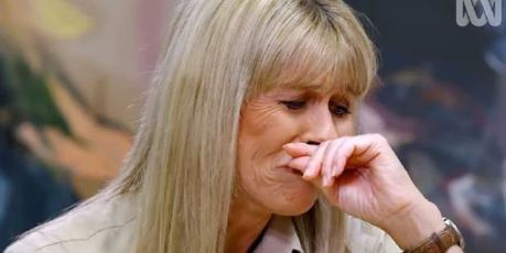 Terri Irwin became emotional as she recalled Steve's death. Photo / ABC