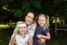 Cystic fibrosis sufferer Frankie-Lee Craw (far right) with her mother Kas and 2-year-old sister Rio. Photo / Supplied