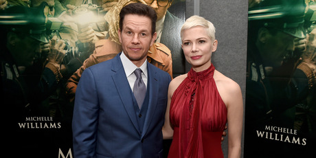 Mark Wahlberg (L) and Michelle Williams attend the premiere of Sony Pictures Entertainment's All The Money In The World. Photo / Getty