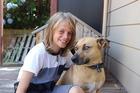 Coe Rochford and his dog Dan.