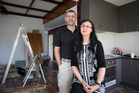 Steve Piner and Marewa Glover are now renovating their Otahuhu investment property. Photo / Greg Bowker
