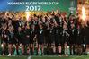 The victorious Black Ferns are up for another Halberg award. Photo / Getty Images